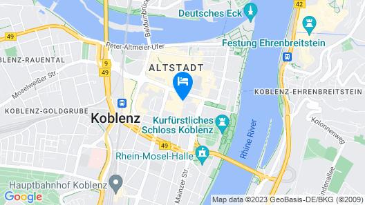 sander Hotel Map
