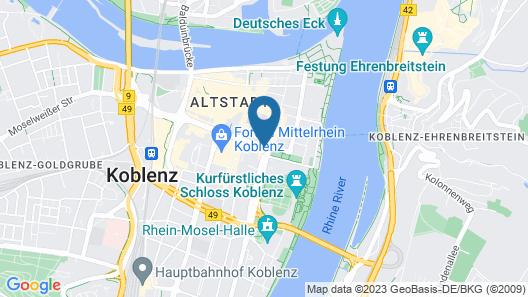 Hotel Trierer Hof Map