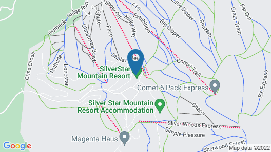 Vance Creek Hotel & Conference Centre Map