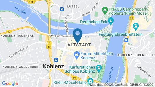 Apartments - Mehlgasse 4 Map