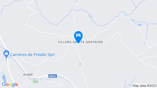 Gîte d'Etape de Villers-sainte-Gertrude Map