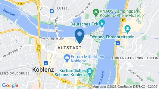 City Residences Koblenz Map