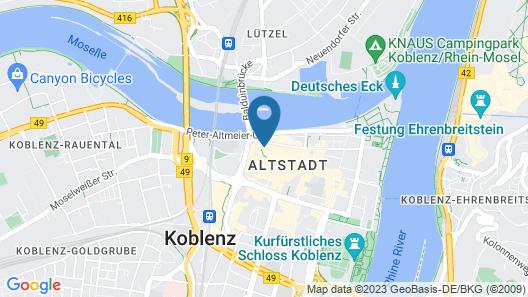 Aparthotel am Münzplatz Map