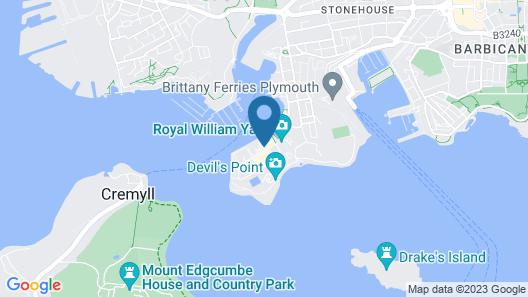 Royal William Yard Apartments Map