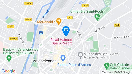 Royal Hainaut Spa & Resort Hotel Map
