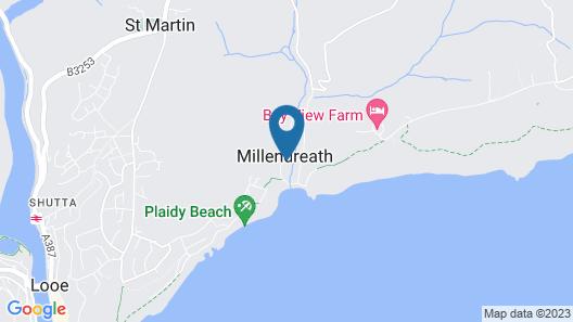 Millendreath Beach Resort Map