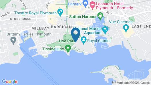 Cassandra Guest House Map