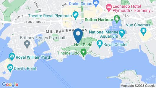 Invicta Hotel Map
