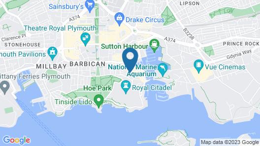 Barbican Reach Guest House Map