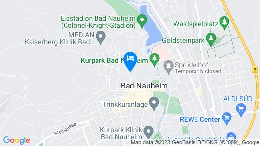 Dolce by Wyndham Bad Nauheim  Map