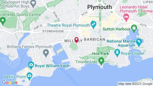 Duke Of Cornwall Map
