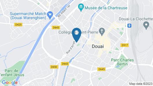 ibis Douai Centre Map