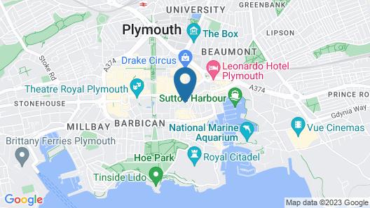 Fox House, Studio Apartments Map