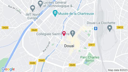 Les Chambres d'Hôtes du Palais Map