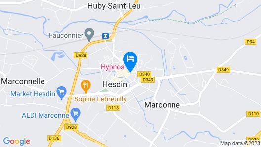 Hypnos Hotel Map