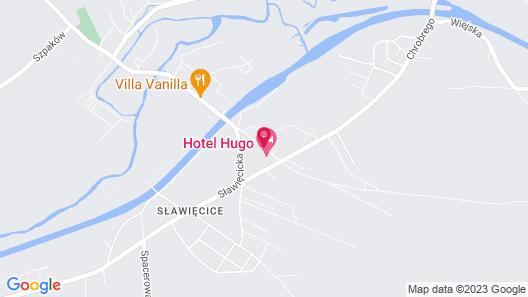 Hotel Hugo Business & Spa Map