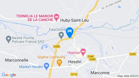 Le Grand Trianon Map