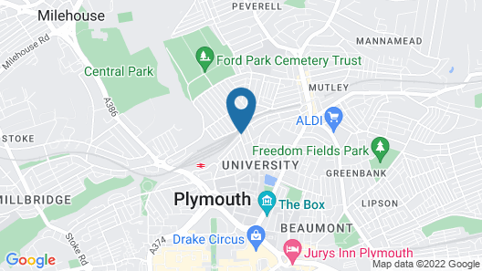 Ford Park Apartment Map
