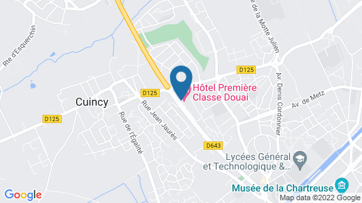 Premiere Classe Douai - Cuincy Map