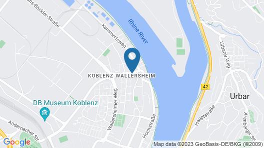 Stadtwohnung Ursus Map