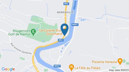 Le Chanteraine Map