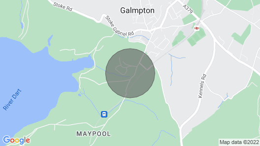 2 Bedroomed Chalet in Galmpton Holiday Park Galmpton Torbay Devon Map