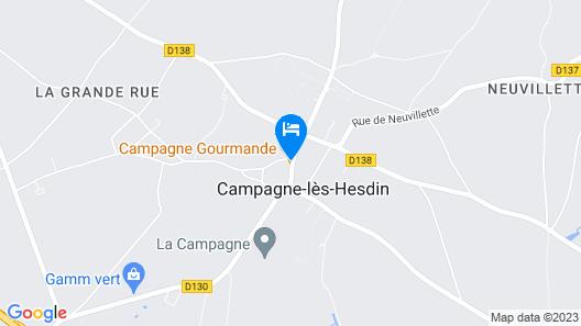 B&B Nuits Campagnardes Map