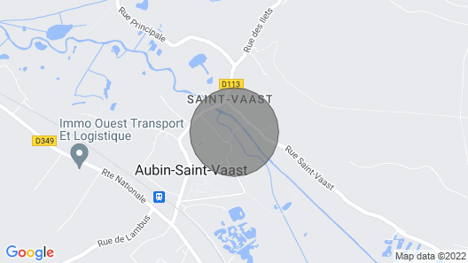 1 Bedroom Accommodation in Aubin Saint Vaast Map