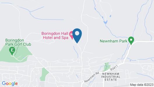 Boringdon Hall Hotel and Spa Map