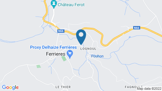 Romantic Cottage in Ferrières With Barbecue Map