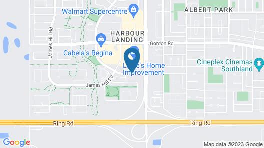 Days Inn by Wyndham Regina Airport West Map