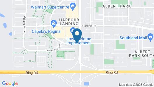 Home Inn and Suites Regina Airport Map