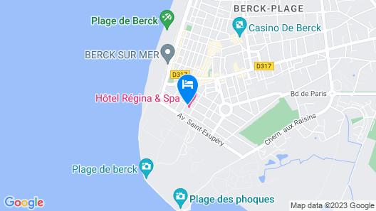 Hôtel Régina Map