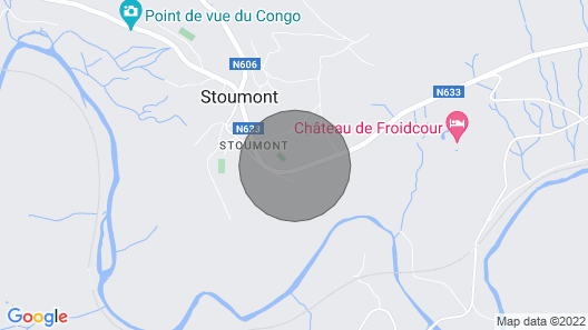 Cozy Apartment in Stoumont With Private Terrace Map