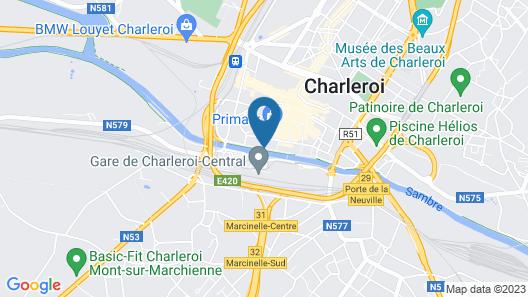 Ibis Charleroi Centre Gare Map