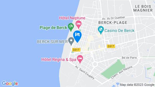 ETABLISSEMENT PIEDS DANS L'EAU Map