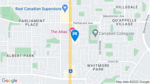Holiday Inn Express & Suites Regina-South Map