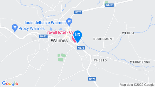 RAVEL Hotel Cyrano Map