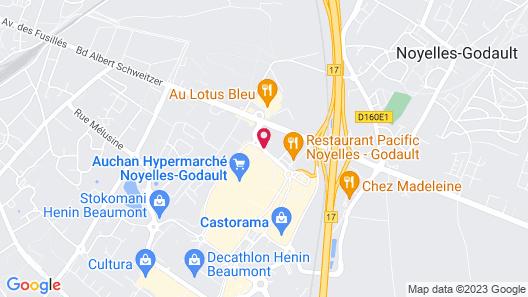 Novotel Lens Noyelles Map