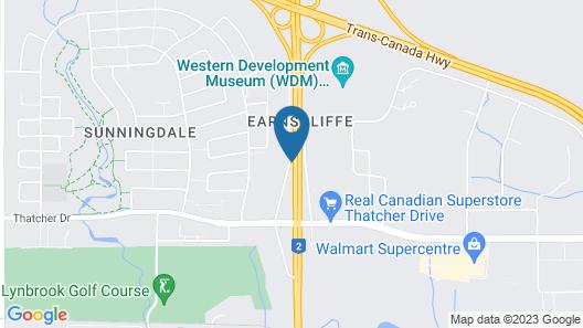 Days Inn by Wyndham Moose Jaw Map