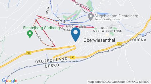 AHORN Hotel Am Fichtelberg Map