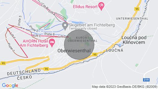 Aparthotel Deutscher Kaiser - Apartment Plattenberg Map