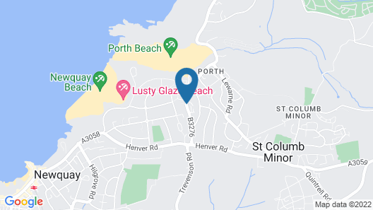 Porth Cottage Map