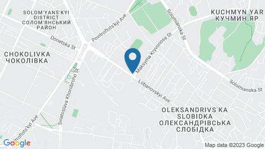 Hotel Oberig Kiev Map