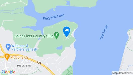 China Fleet Country Club Map