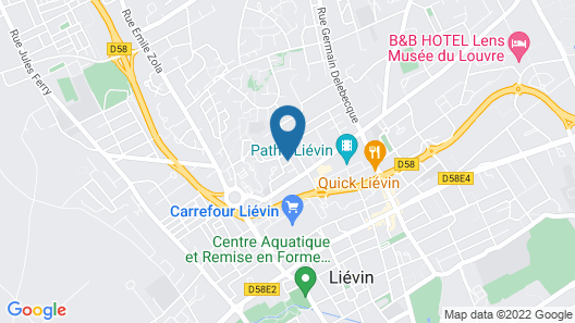 Villa Moderne/ Jardin/terrasse/jacussi Map
