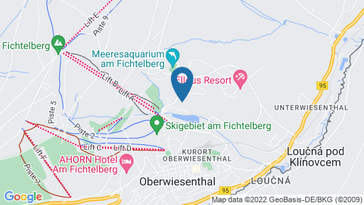 Best Western Ahorn Hotel Oberwiesenthal - Adults Only Map