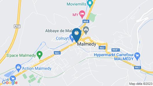 Hotel La Forge Map