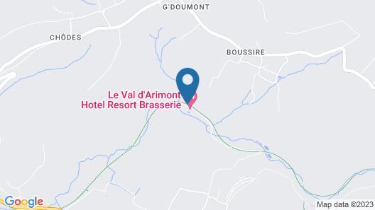 Le Val D'Arimont Resort Map
