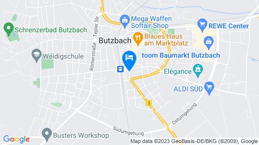 Hotel Hessischer Hof Map